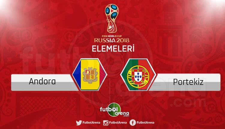 Andorra Portekiz canlı skor, maç sonucu - Maç hangi kanalda?