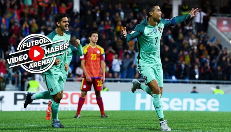 Andorra Portekiz maçı özeti ve golleri (İZLE)