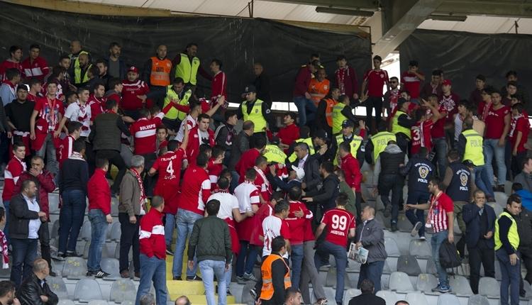 Ankaragücü - Boluspor maçında olaylar çıktı