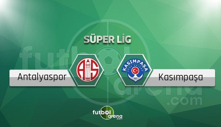 Antalyaspor Kasımpaşa canlı skor, maç sonucu - Maç hangi kanalda?