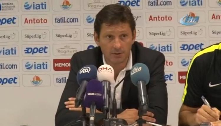 Antalyaspor'da Leanordo Araujo hakemi suçladı