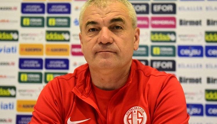Antalyaspor'un eski teknik direktörü Rıza Çalımbay: