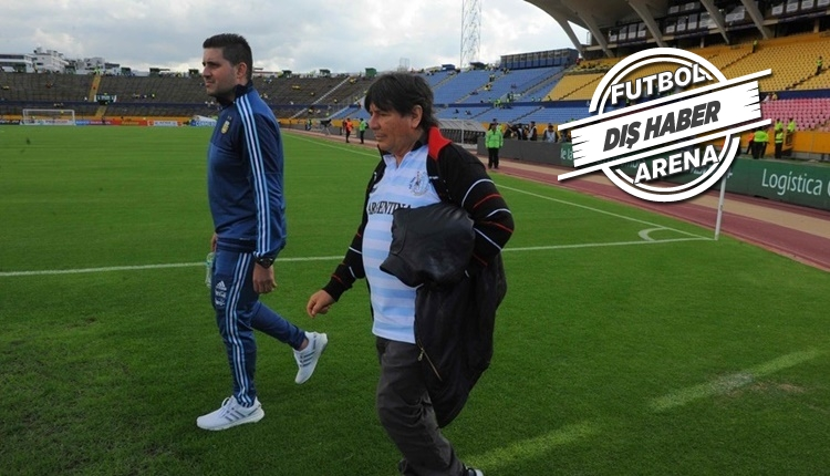 Ekvador - Arjantin maçında büyücü skandalı!