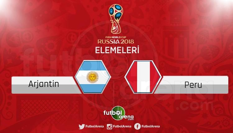 Arjantin - Peru canlı skor, maç sonucu - Maç hangi kanalda?