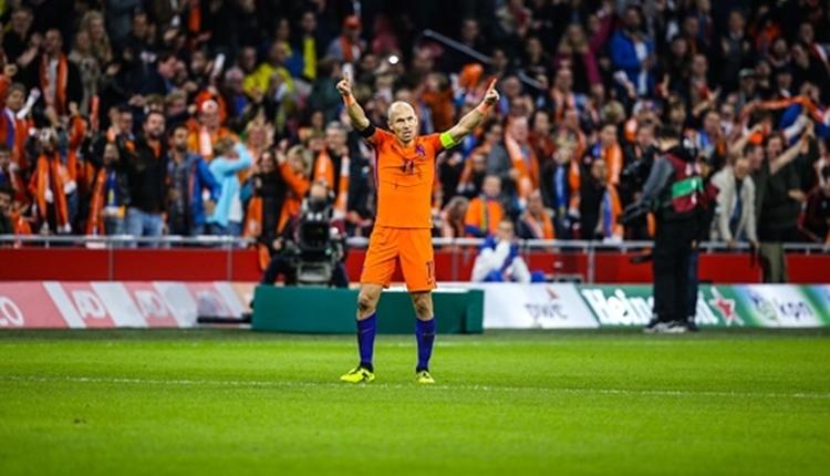 Arjen Robben, Hollanda Milli Takımı'nı bıraktı