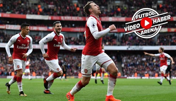 Arsenal 2-1 Swansea City maçı özeti ve golleri (İZLE)