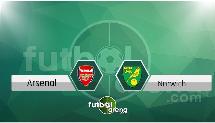 Arsenal - Norwich City canlı skor, maç sonucu - Maç hangi kanalda?