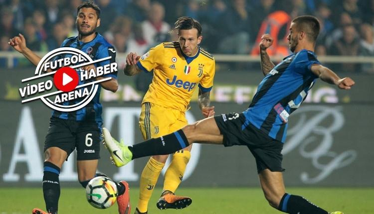 Atalanta - Juventus maçı özeti ve golleri (İZLE)