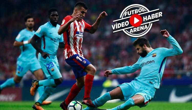 Atletico Madrid 1-1 Barcelona maçı özeti ve golleri