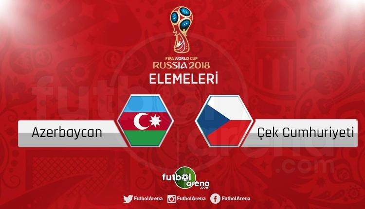 Azerbaycan Çek Cumhuriyeti canlı skor, maç sonucu - Maç hangi kanalda?