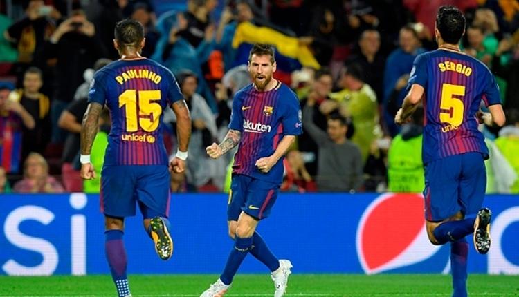 Barcelona 3-1 Olympiakos maç özeti ve golleri (İZLE)