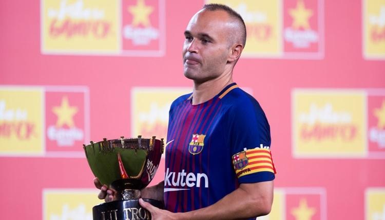 Barcelona İniesta'yı sevmek için 8 nedeni açıkladı