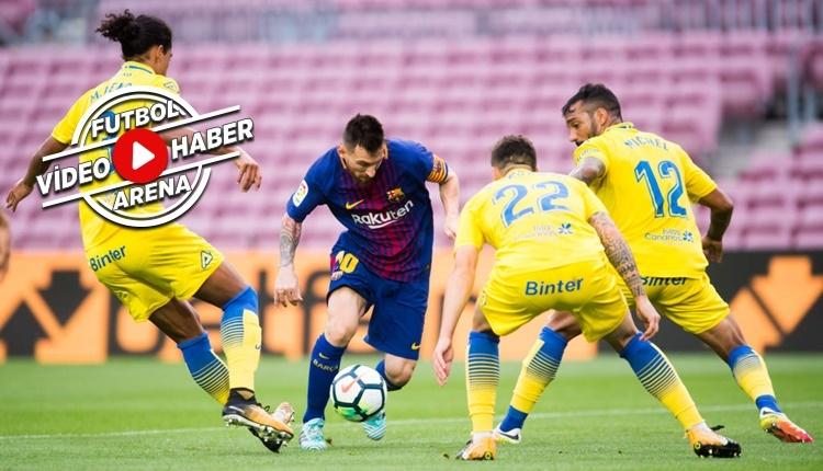 Barcelona - Las Palmas maçı özeti ve golleri (İZLE)