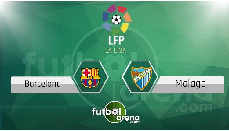 Barcelona Malaga canlı skor, maç sonucu - Maç hangi kanalda?