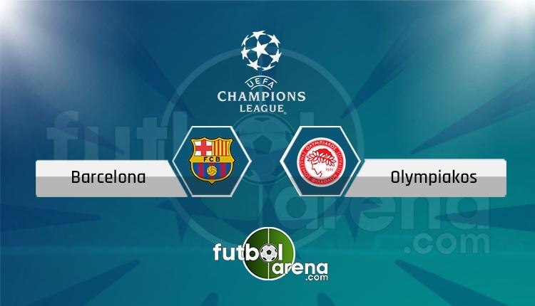 Barcelona Olympiakos canlı skor, maç sonucu - Maç hangi kanalda?