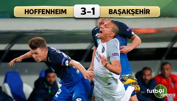 Hoffenheim 3-1 Medipol Başakşehir maç özeti ve golleri (İZLE)