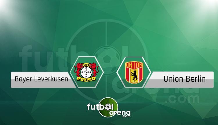 Bayer Leverkusen - Union Berlin canlı skor, maç sonucu - Maç hangi kanalda?