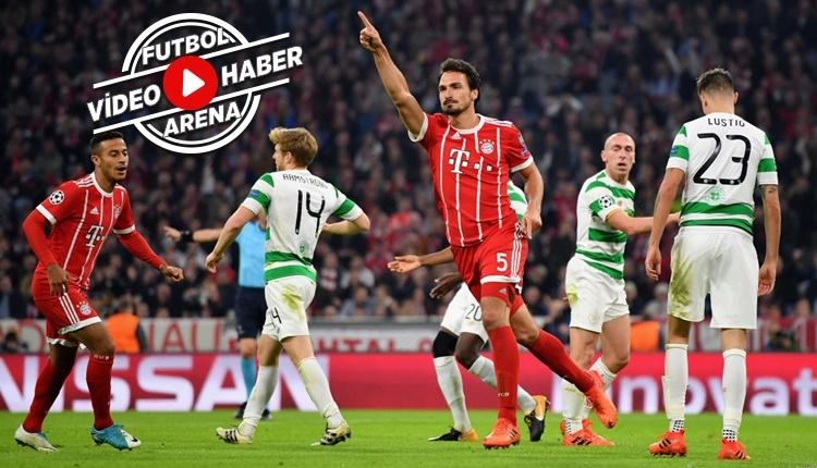 Bayern Münih 3-0 Celtic maçı özeti ve golleri (İZLE)