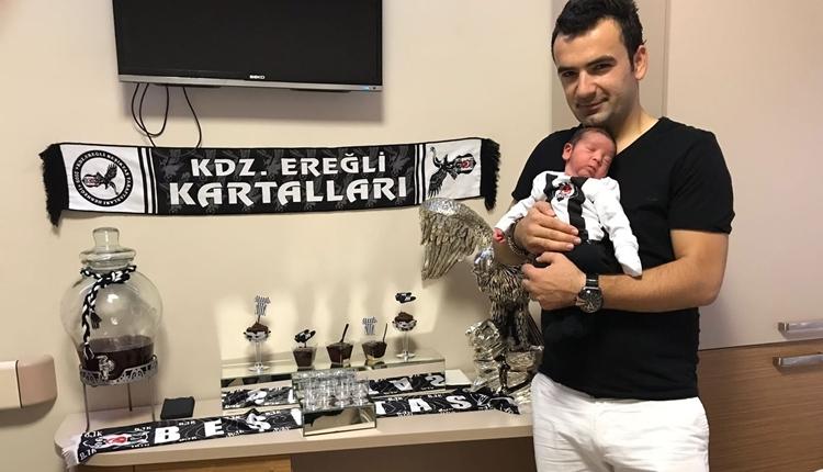 Beşiktaş hastası baba, bebeğinin odasını bu hale getirdi