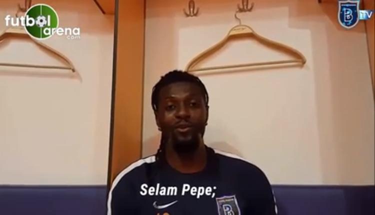 Beşiktaş maçı öncesi Adebayor'dan Pepe'ye videolu mesaj (İZLE)