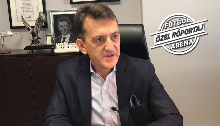 Beşiktaş yöneticisi Metin Albayrak ile çok özel
