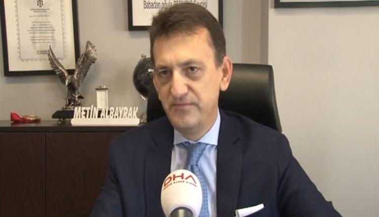 Beşiktaş yöneticisi Metin Albayrak'tan Negredo'ya övgü