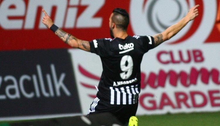 Beşiktaş'a galibiyeti getiren Negredo'nun ilk gol açıklaması
