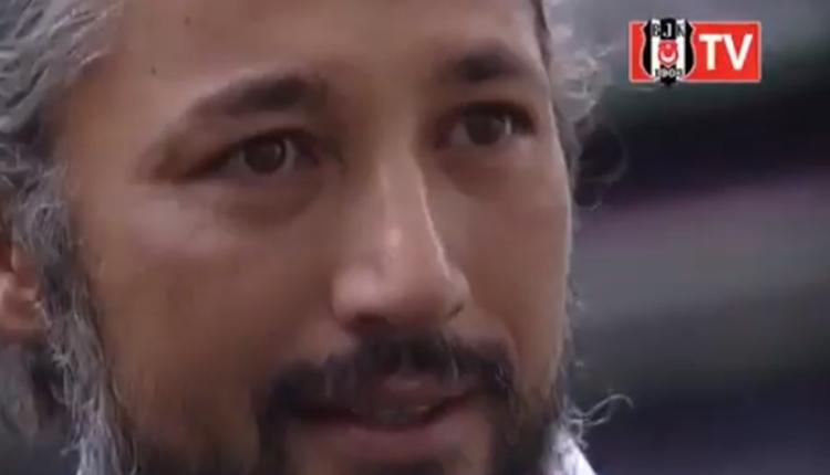 Beşiktaş'ı anlatan İlhan Mansız gözyaşlarına hakim olamadı (İZLE)
