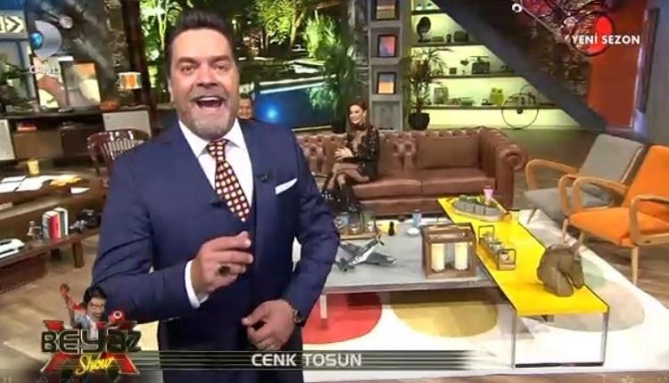 Beşiktaşlı futbolcu Cenk Tosun canlı yayın Kanal D Beyaz Show'da (27 Ekim Cuma)