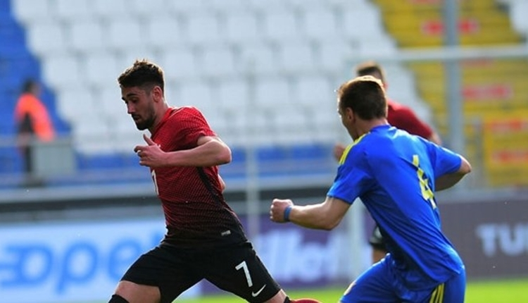 Beşiktaşlı Orkan Çınar'dan Güney Kıbrıs - Türkiye maçında müthiş gol (İZLE)