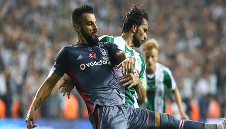 Beşiktaş'ta Alvaro Negredo tatil yapmıyor