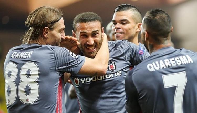Beşiktaş'ta Cenk Tosun, Şampiyonlar Ligi'nde haftanın futbolcusu adayı