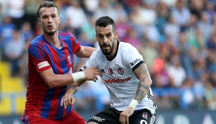 Beşiktaş'ta Şenol Güneş, Alvaro Negredo için kararını verdi