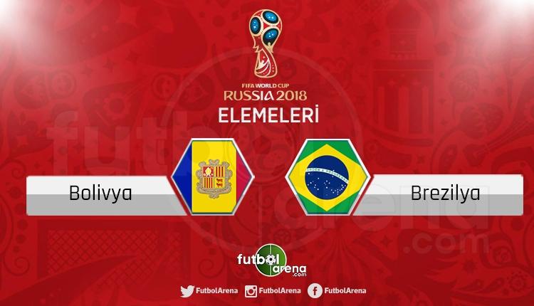 Bolivya Brezilya canlı skor, maç sonucu - Maç hangi kanalda?