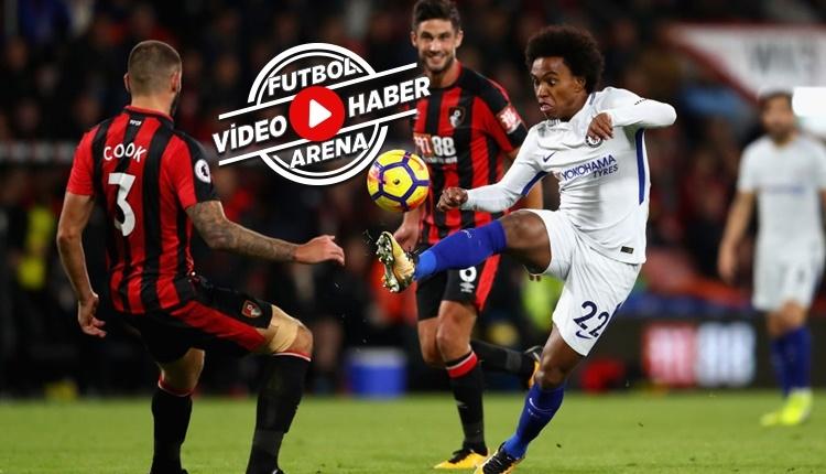 Bournemouth 0-1 Chelsea maçı özeti ve golü (İZLE)