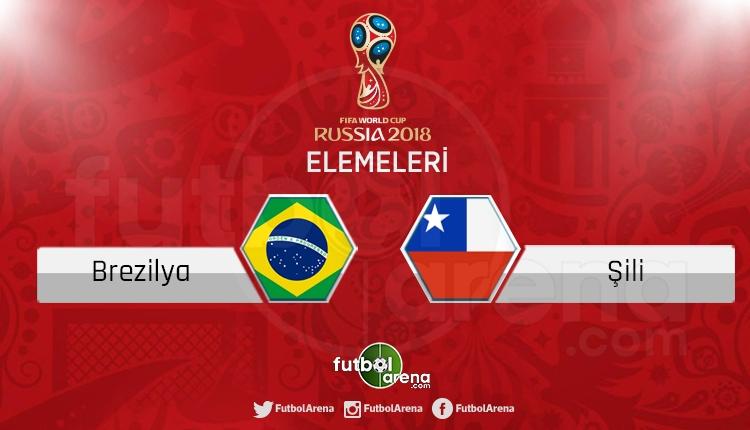 Brezilya - Şili canlı skor, maç sonucu - Maç hangi kanalda?