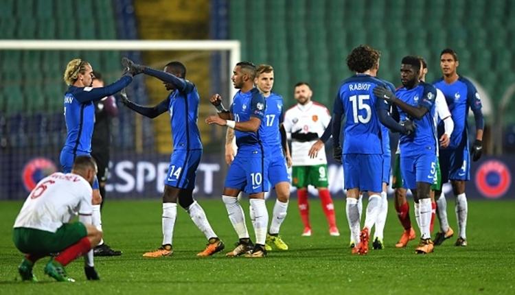 Bulgaristan 0-1 Fransa maç özeti ve golleri (İZLE)