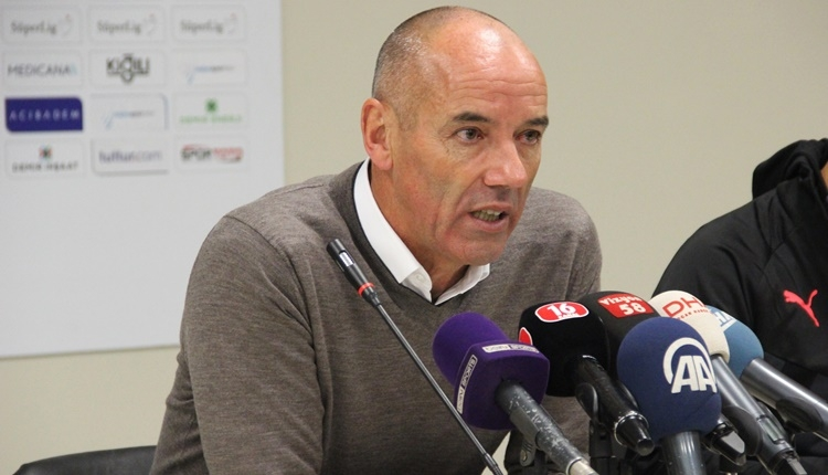 Bursaspor'da Paul Le Guen'den iddialı açıklamalar