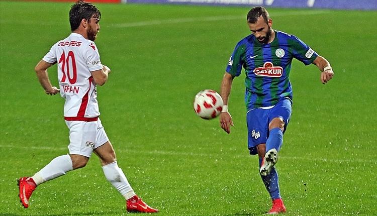Çaykur Rizespor 1-0 Boluspor maç özeti ve golleri