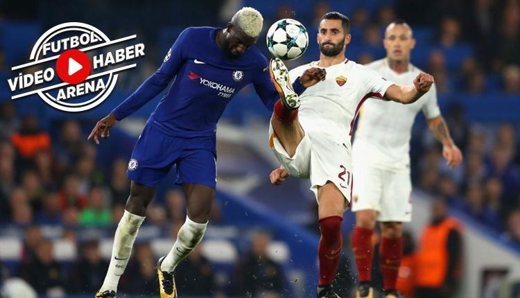 Chelsea 3-3 Roma maçı özeti ve golleri (İZLE)