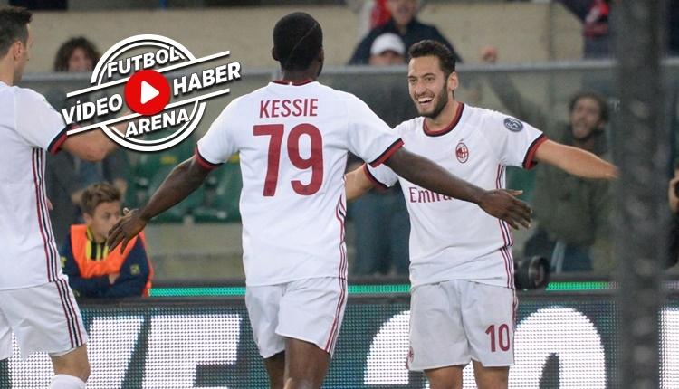 Chievo 1-4 Milan maçı özeti ve golleri (İZLE)