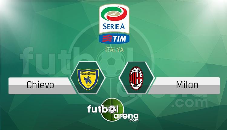 Chievo Milan canlı skor, maç sonucu - Maç hangi kanalda?