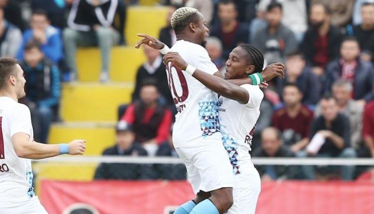 Çorum Belediyespor 0 - 6 Trabzonspor maç özeti ve golleri (İZLE)
