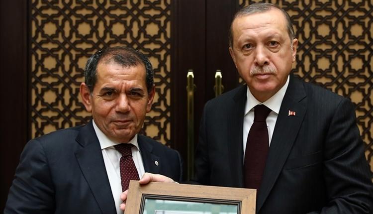 Cumhurbaşkanı Erdoğan, kulüp başkanlarını kabul etti