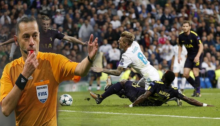 Cüneyt Çakır, Tottenham - Real Madrid maçını yönetecek