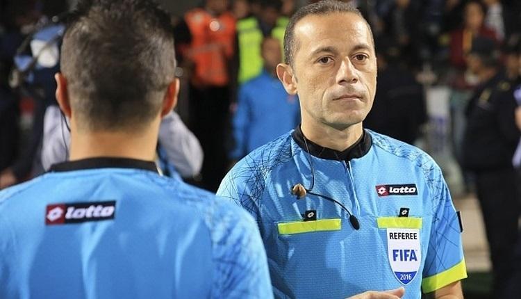 Cüneyt Çakır ve Halis Özkahya'ya UEFA'dan kritik maçlar