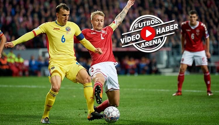 Danimarka - Romanya maçı özeti ve golleri (İZLE)