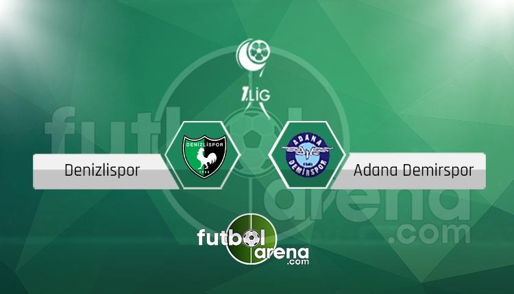 Denizlispor - Adana Demirspor maçı canlı skor, maç sonucu - Maç hangi kanalda?
