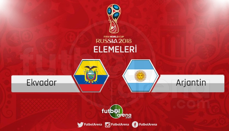 Ekvador - Arjantin canlı skor, maç sonucu - Maç hangi kanalda?