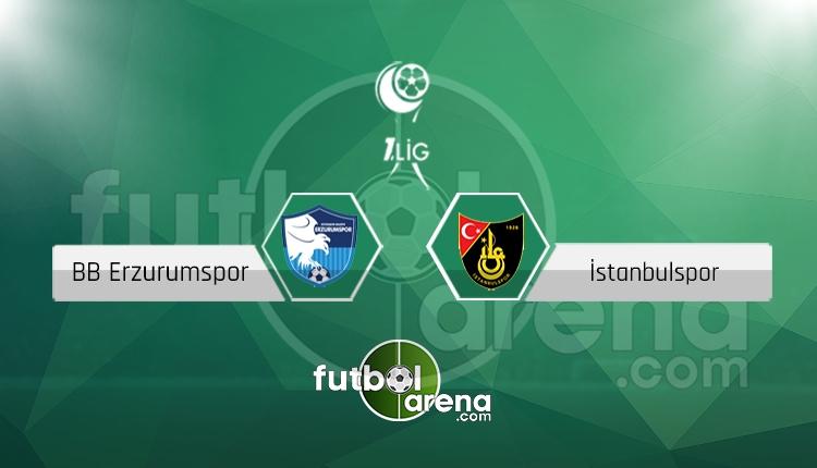 Erzurumspor İstanbulspor canlı skor, maç sonucu - Maç hangi kanalda?